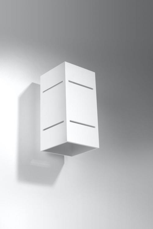 SOLLUX - Аплик BLOCCO  white  SL.0477