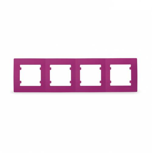 MAKEL - Четворна рамка цикламено розова Lillium Natural Kare  32085704