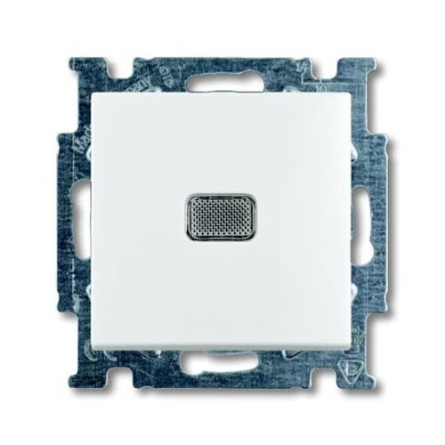 ABB - Бутон със светлинна индикация цвят Basic55 ABB Бяло 2CKA001413A1081