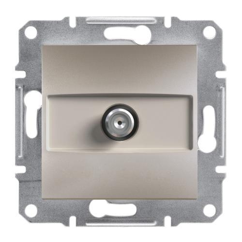 SCHNEIDER ELECTRIC - SAT розетка крайна 1dB бронз Asfora EPH3700169