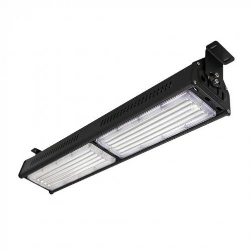 V-TAC - 100W LED Линеен Индустриален Осветител Черно Тяло Неутрална Светлина SKU: 5599 VT-9108, 5600 6000K