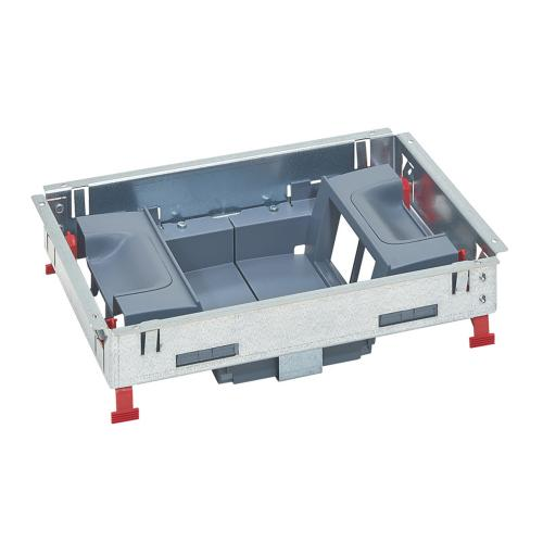 LEGRAND - Основа за подова кутия 8 (2х4) модула за вертикален монтаж на механизми 88023