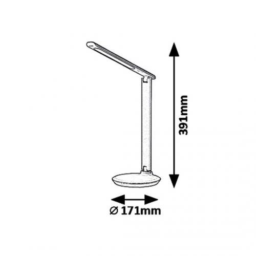 RABALUX - Настолна лампа OSIAS  6980 LED / 9W, 400lm, 2700K-6500K