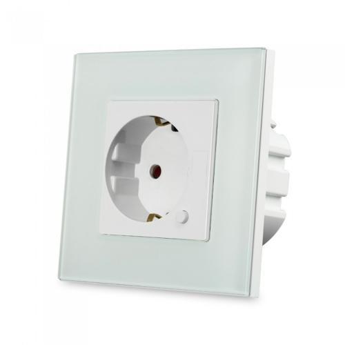 V-TAC - WIFI SMART Контакт Конзолен Бял Съвместим с Amazon Alexa & Google Home SKU: 8798 VT-5134