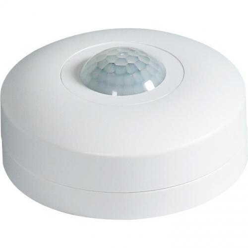 COmmel - Датчик за движение PIR, за открит монтаж на таван, 360°, обхват D6m @ h=2.5m, IP20, цвят Бял Commel 311-101