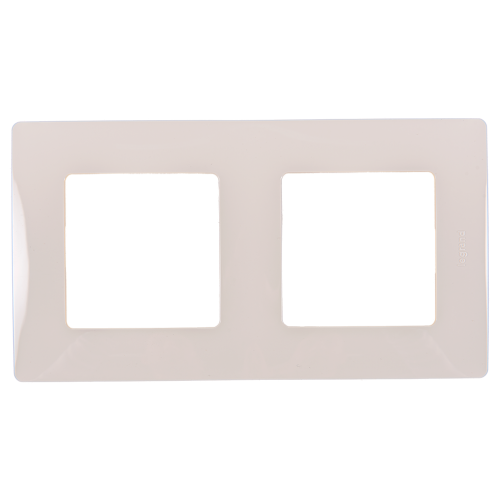 LEGRAND - Двойна рамка NILOE 665012 крем