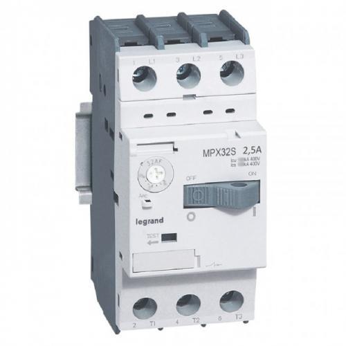 LEGRAND - Моторна защита 3P 1.6-2.5A тип MPX3 32S 417306
