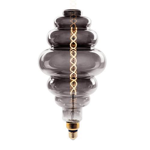 V-TAC - LED Крушка 8W Опушен Двоен Филамент E27 S200 Димиращ 2000К SKU: 7465 VT-2188D