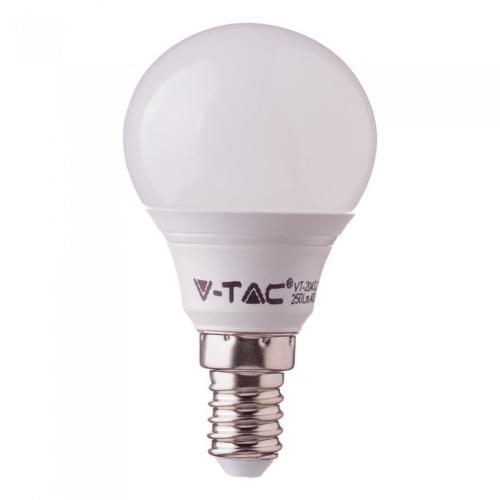 V-TAC - LED Bulb - 5.5W E14 P45 4000K CRI 95+ SKU: 7489 VT-2236, 2700К-7488, 6400К-7490