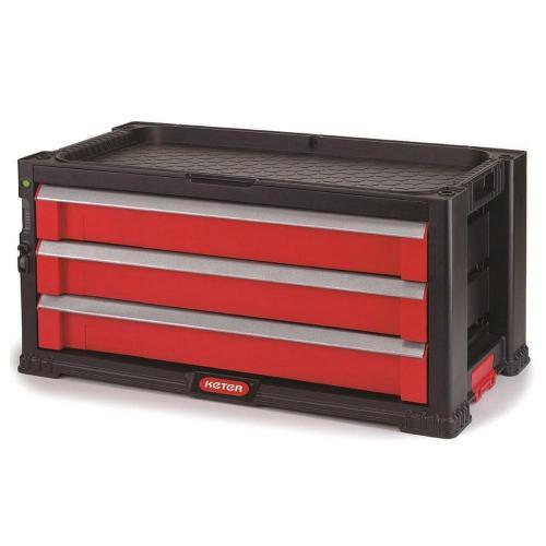KETER - Шкаф за инструменти три чекмеджета 17199302