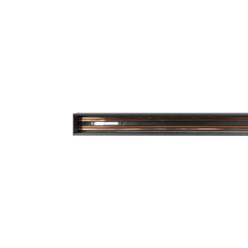 V-TAC - Релса за Вграждане Магнитен Осветител Черна 1.5м SKU: 7953