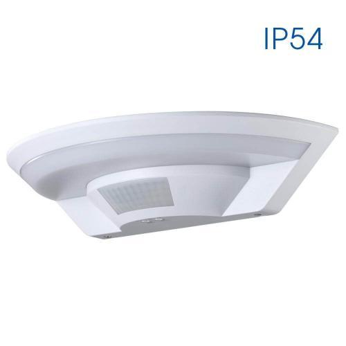 VIVALUX - LED аплик със сензор за движение LUNAR LED 10W SR12 IP54 VIV004338