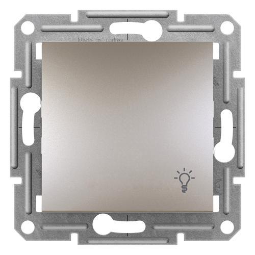 SCHNEIDER ELECTRIC - Бутон със символ осветление бронз 10A Аsfora EPH0900169
