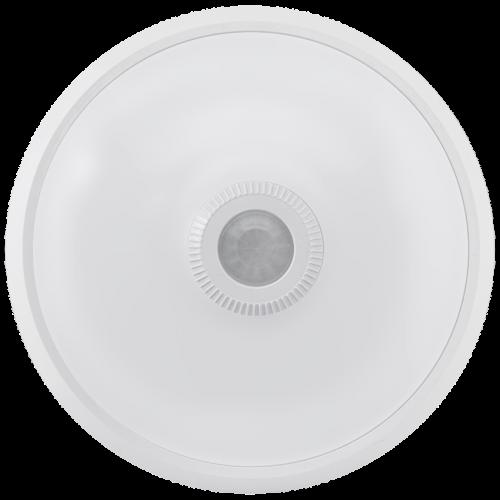 ULTRALUX - SPLP1642 LED плафониера с PIR сензор за движение, кръг, бяла, 16W, 4200K, 220-240V AC, неутрална светлина, IP20