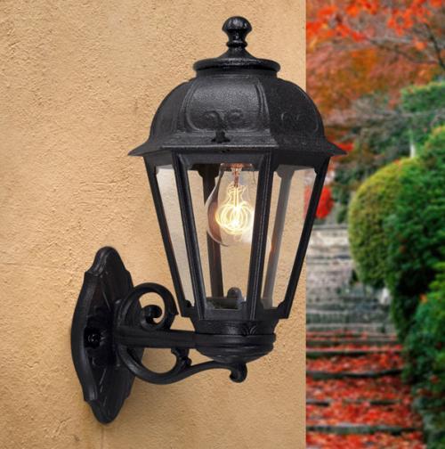 FUMAGALLI - Градински фенер SABA BLACK  K22.131.000.AXE27