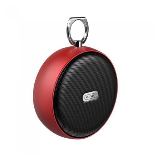 V-TAC - Преносима Bluetooth Колона Micro USB 800mah Червена SKU: 7716 VT-6211