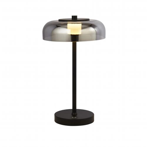 SEARCHLIGHT - Настолна лампа FRISBEE 59801-1SM LED, 1x10W, 155lm, 2700K