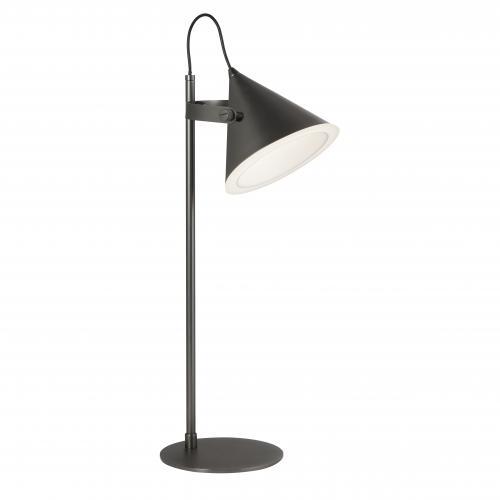 SEARCHLIGHT - Настолна лампа CONICAL 6488BK LED, 10W, 354lm, 3000K