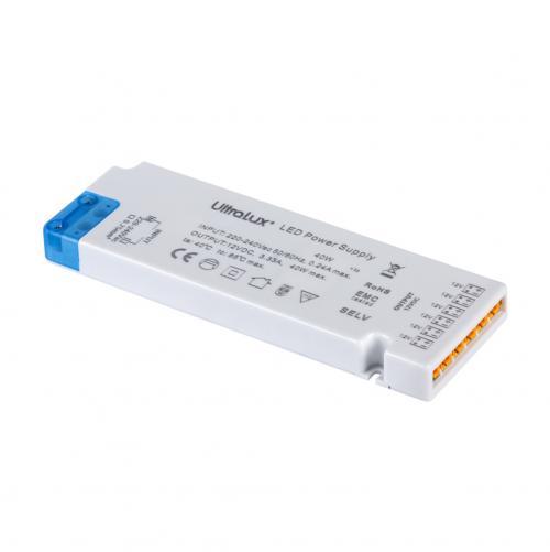 ULTRALUX - ZML1236 Захранване за мебелно светодиодно осветление, 36W, 3.0А, IP20