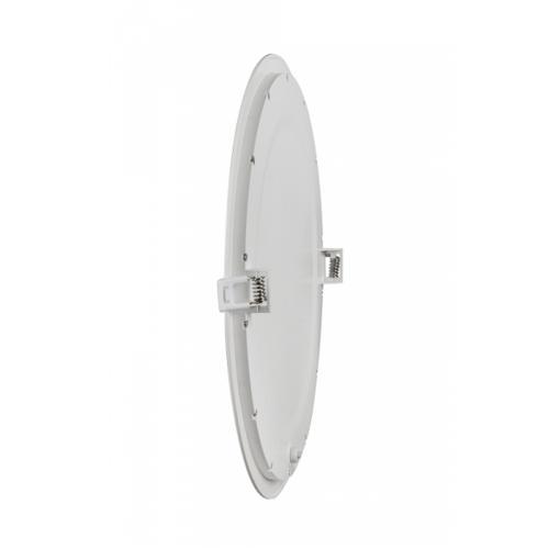 ULTRALUX - LPRB2442 LED панел за вграждане, кръг, 24W, 4200K, 220V-240V AC, неутрална светлина, SMD2835
