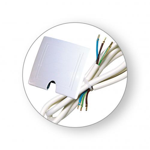 COmmel - Твърда връзка комплект с кабел H05VV-F 3x2.5mm2 1.5 метра Commel 272-201