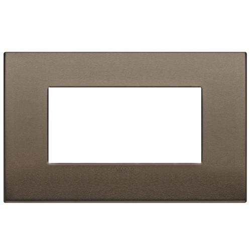 VIMAR - 19654.17 Arke Четиримодулна рамка Classic dark bronze