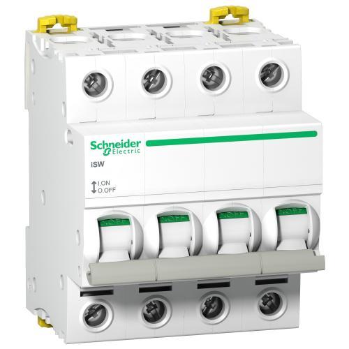 SCHNEIDER ELECTRIC - Товаров прекъсвач /шалтер/ Acti 9 iSW 4P 100A 415V 4 мод. A9S65491