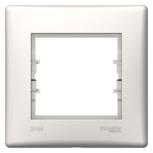 SCHNEIDER ELECTRIC - SDN5810523 влагозащитена рамка Sedna единична крем IP44