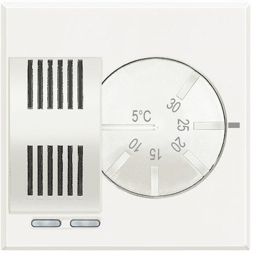 BTICINO - HD4441 Термостат механичен 2 модул Axolute бяло
