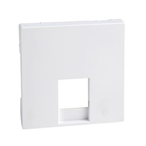 SCHNEIDER ELECTRIC - MTN469625 Лицев панел за RJ11 активно бяло System M /антибактериален/