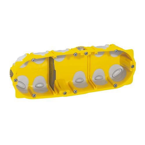 LEGRAND - 80023 Конзола за гипс картон 6/8 мод. 40мм ECOBatibox с гумени мембрани