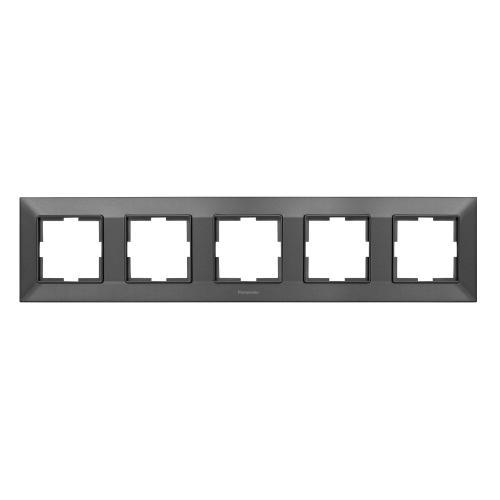 PANASONIC - Рамка петорна хоризонтална бронз PANASONIC Arkedia slim WNTF0805-2DG