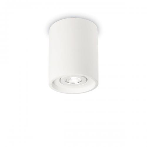 IDEAL LUX - Плафон OAK PL1 ROUND Bianco  150420