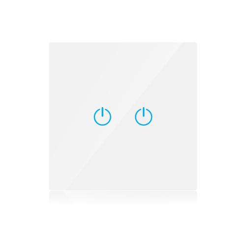 V-TAC - WIFI SMART Touch Ключ Сериен Бял Съвместим с Amazon Alexa & Google Home SKU: 8418 VT-5004