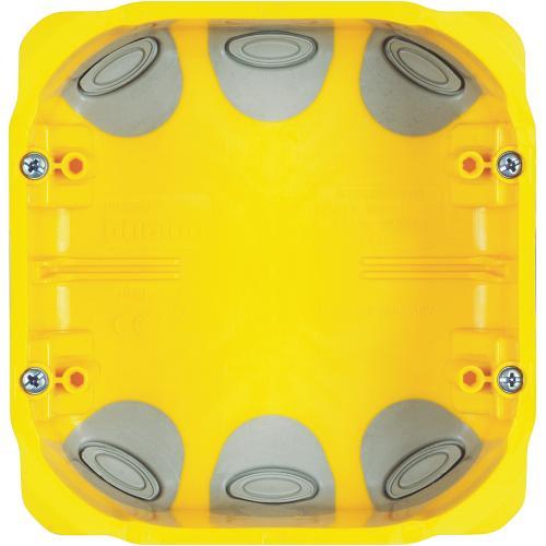 BTICINO - PB526N Конзола за гипс картон 3+3 мод. дълбочина 52мм Bticino с гумени мембрани