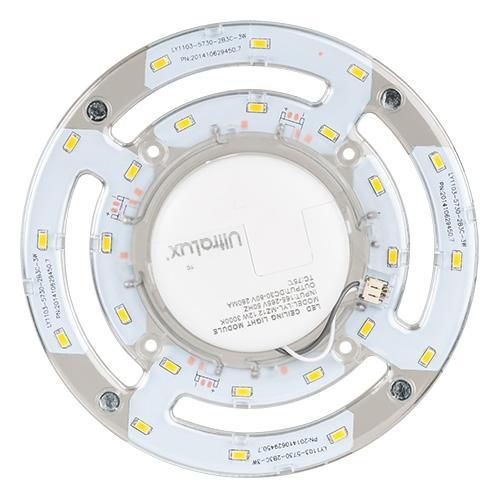 ULTRALUX - LMP1230 МАГНИТЕН LED МОДУЛ ЗА ПЛАФОНИЕРИ, 12W, 3000K, 220V,
