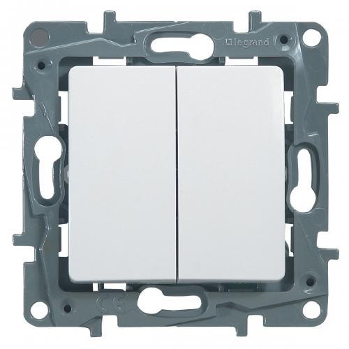 LEGRAND - 764502 NILOE Сериен девиаторен ключ 10A бял