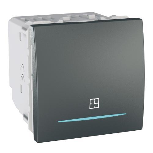 SCHNEIDER ELECTRIC - MGU3.535.12 Ключ с времезакъснение 8А Unica Top графит