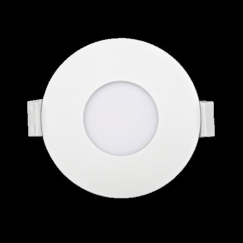 PANASONIC - 3W LED панел за вграждане, кръг, 6500K ∅85 LPLA11W036