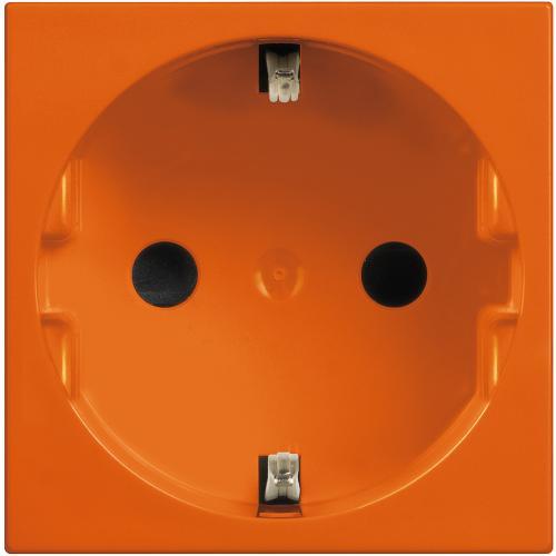 BTICINO - R4141A Контакт шуко 2Р+Е 16А Classia оранжево