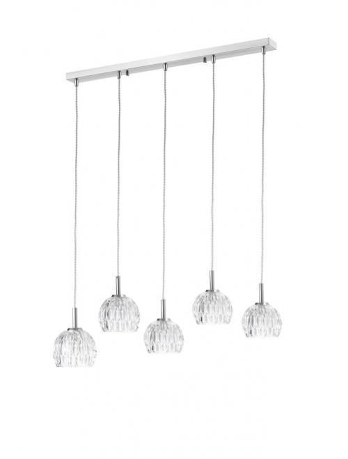 NOVA LUCE - Пендел  LARA  8540404  G9 5x28 W, IP20 Bulb Excluded L: 100 W:12 H: 140 cm