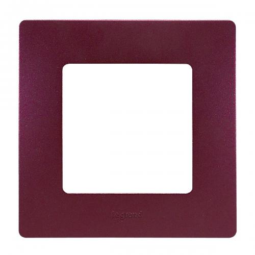 LEGRAND - Единична рамка NILOE 397081 Лилав