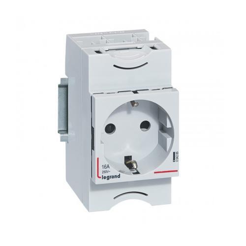 LEGRAND - DIN контакт шуко 16A 2,5 модула 4285
