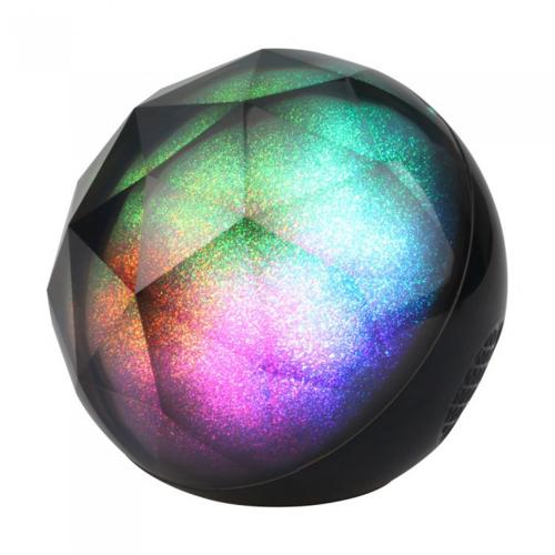 V-TAC - SKU:7722 VT-6211 LED LIGHT MINI PORTABLE BLUETOOTH SPEAKER WITH AUX & TF SLOT(TWS FUNCTION)-1200mah BATTERY