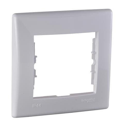 SCHNEIDER ELECTRIC - SDN5810121 влагозащитена рамка Sedna единична бял IP 44