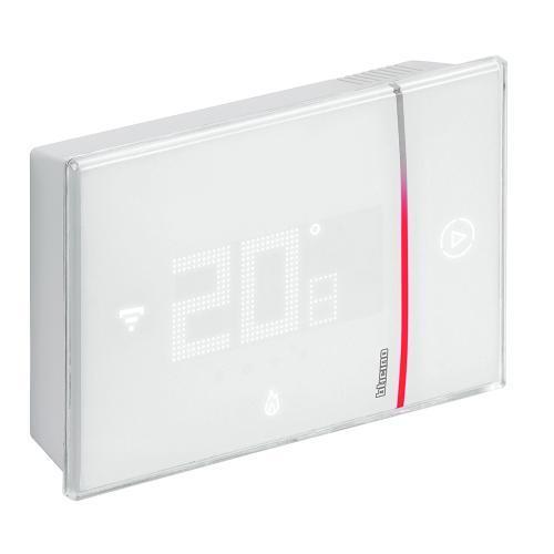 BTICINO - Термостат Smarther 2 с вградено Wi-FI за открит монтаж бял Bticino with Netatmo XW8002W