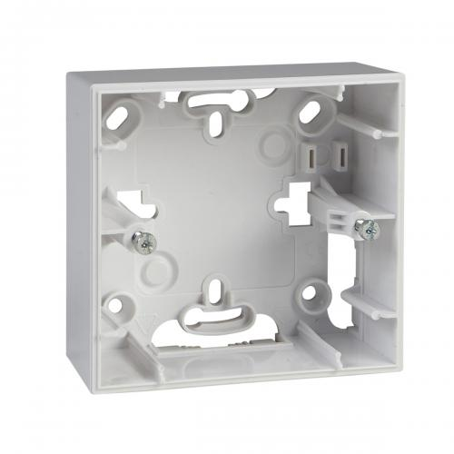 SCHNEIDER ELECTRIC - MGU8.002.18 Конзола за открит монтаж Unica бял