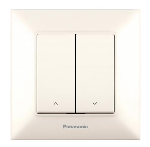 PANASONIC - Ключ за щори Panasonic Arkedia Slim крем WNTC0022-2BG