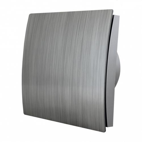 MMOTORS - Вентилатор за баня MM-P/01, ∅120 сребро, овал