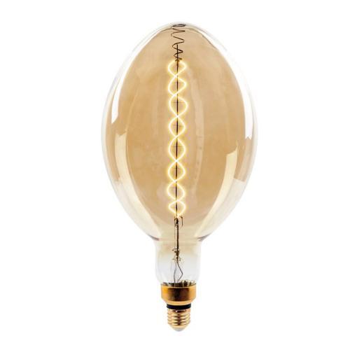 V-TAC - LED Крушка  8W Двоен Filament Е27 BF180 Димираща 2000К SKU: 7463 VT-2168D